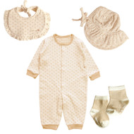 Heart brown Set ( 4 pack )