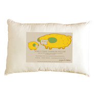 ( Toddler Pillow 13 X 18 inches) 100 % Organic Cotton Shell. ❤ No Bleaches, No Dyes