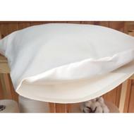 Organic Cotton Toddler Pillowcase for 13 *18 Pillow (Natural Basic Premium Envelope Closure )