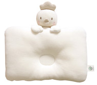 Organic Cotton Baby Protective Pillow - ( Peekaboo Baby Bird  )
