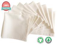 Gauze muslin Baby Washclothes Towels (10PCS)