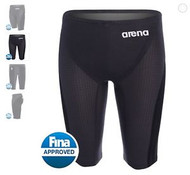 Arena Carbon Flex Jammer- Black and Grey- MYM