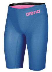 Arena R-Evo One Jammer- Blue and Powder Pink- MYM