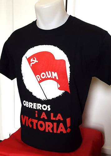 POUM - OBREROS !A LA VICTORIA! (WORKERS TO VICTORY) T-SHIRT