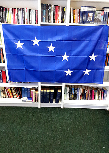 Starry Plough GIANT flags (8 feet x 5 feet)