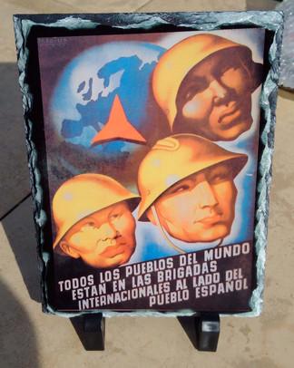 International Brigade All the people'... slate