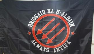 Briogaid Na H-Alabain  ALWAYS ANTIFA flag