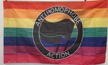 Anti Homophobe Action flag