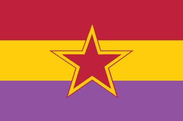 Grupos de Resistencia Antifascista Primero de Octubre 5 x 3 flag