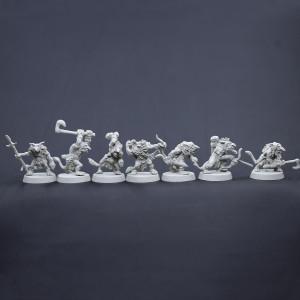 Dwarf Troll Set 1