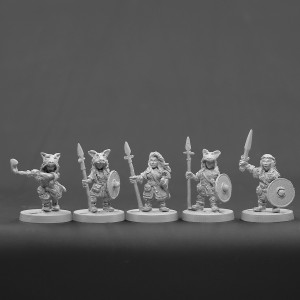 Dwarf Female Set 1
