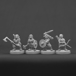 Dwarf Female set 2