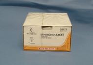"""Ethicon D8674, Ethibond Excel Suture, 0, 48"""", EN-S Taper Needle"""