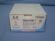Ethicon 8706H 6-0 Prolene suture