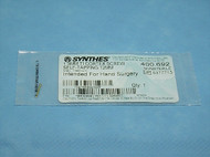 Synthes 400.692 1.3mm Titanium Cortex Screw, Self Tapping, 12mm