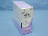"Ethicon Suture J977H Vicryl, 1, 36"" Undyed, CTX taper needle"
