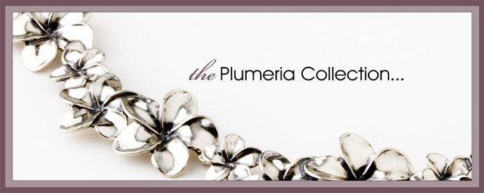 plumeria jewelry maui Sterling Silver Plumeria Jewelry Collection