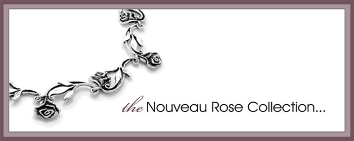 sterling silver rose jewelry
