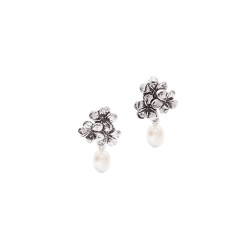 Plumeria Flower Earrings
