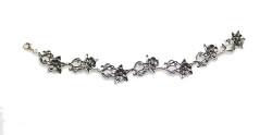 Columbine Flower Bracelet