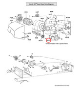 Motor - Includes Capacitor