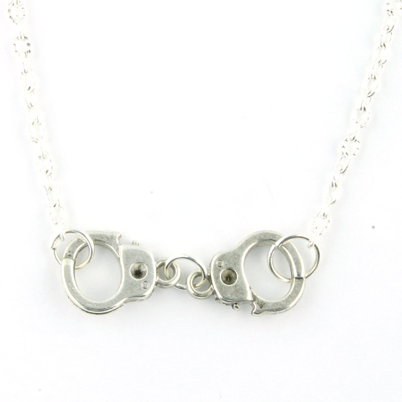 Funky Handcuffs Necklace