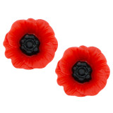 POPPY DAY 12mm Stud Earrings