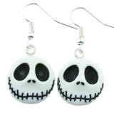 Funky Nightmare Jack Face Earrings
