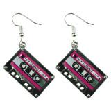 LOVE MIX TAPE Dangle Earrings