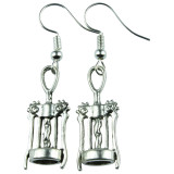 Corkscrew Dangle Earrings