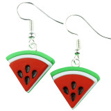 MINI TROPICAL FRESH WATERMELON Dangle Earrings