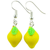 FRUITY LEMON Dangle Earrings