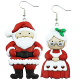 MR & MRS CLAUS Dangle Earrings