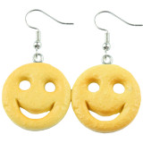 SMILEY POTATO FACE Dangle Earrings