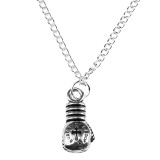 FIGHT NIGHT BOXING GLOVES Pendant Necklace