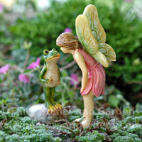 Fairy Kissing a Frog