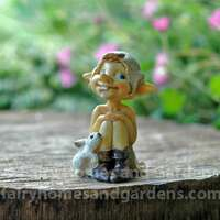 Miniature Pixie With Tiny Bunny