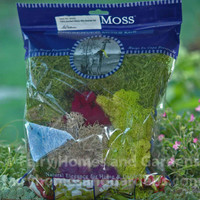 Bag of assorted preserved mosses