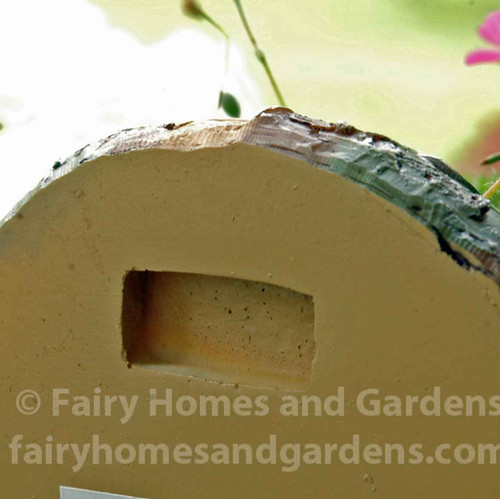 Back View of Fairy Door with Mail Slot