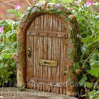 Miniature Fairy Door with Mail Slot
