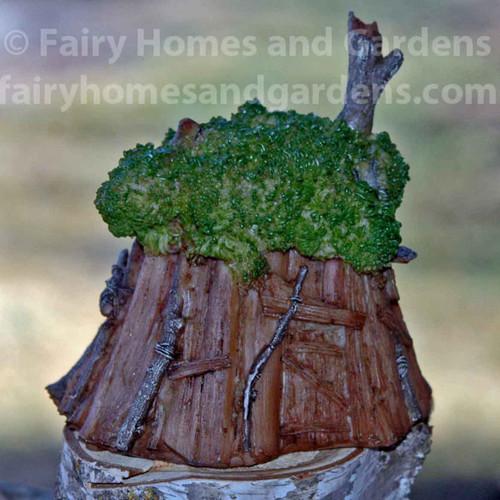 Miniature Fairy Tree House
