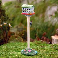 Miniature Birdhouse Hotel