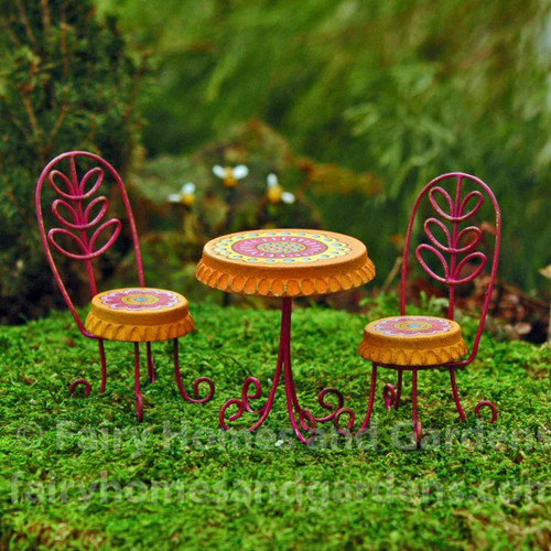 Miniature Table and Chairs