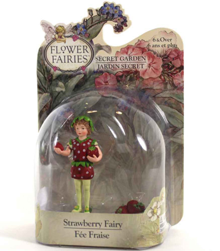 Flower Fairies Secret Garden Strawberry Fairy in Packaging