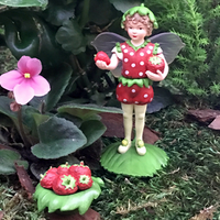 Strawberry Secret Garden Flower Fairy