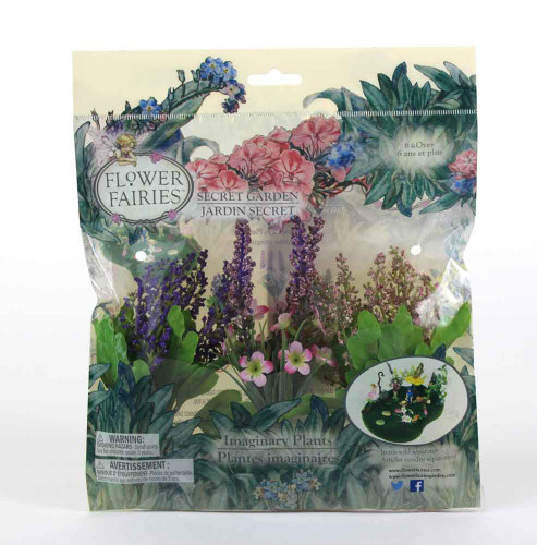 Flower Fairies Secret Garden Imaginary Plants in Package