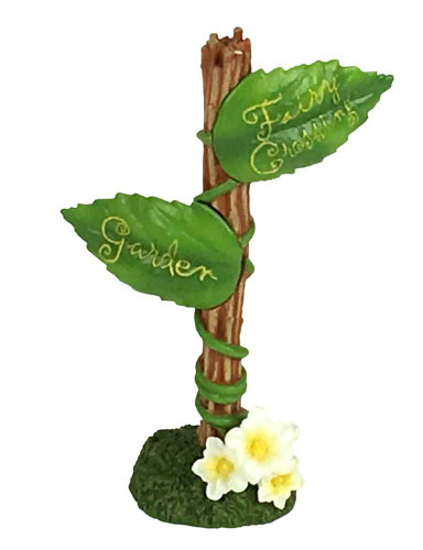 Secret Garden Miniature Fairy Sign