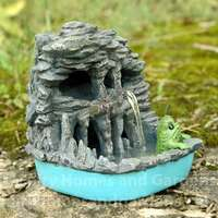 Creature of Skull Lagoon with Miniature Swamp Monster