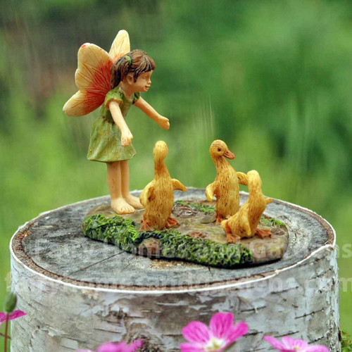 Little Fairy with Wayward Ducks