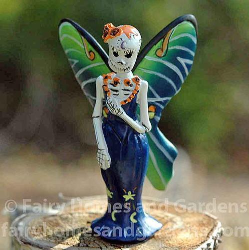 Miniature Day of the Dead Luna Fairy